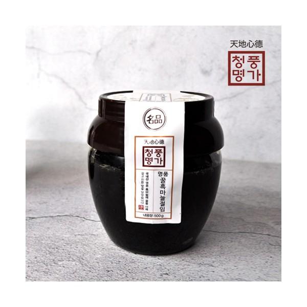청풍명가 명품 꿀흑마늘절임 500g